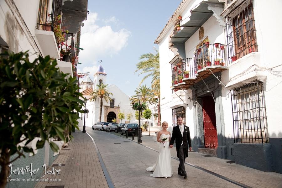 wedding photography at Ermita del Santo Cristo de la Vera Cruz - Marbella