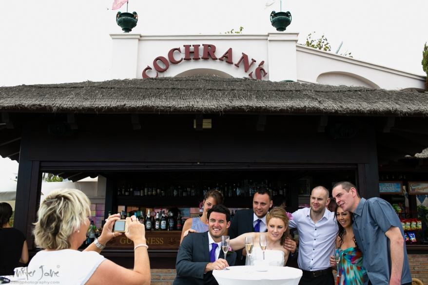 wedding photography at Cochrans Restaurant Nerja