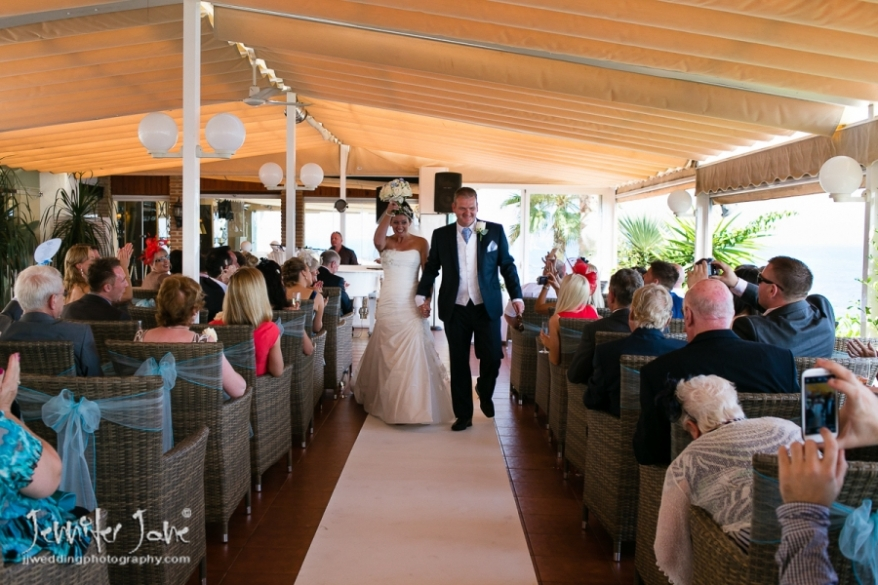wedding at el oceano marbella spain