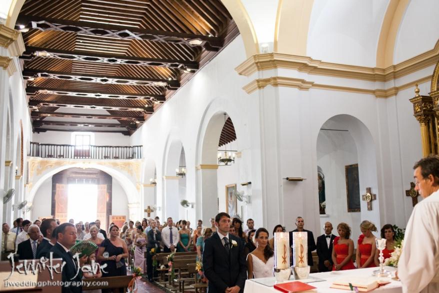 weddings at the san antonio church in frigiliana