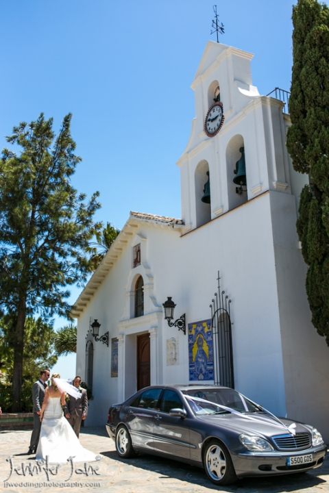 santa domingo church benalmadena pueblo