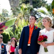 wedding photography at the stunning palacete de cazulas otivar spain, ceremony set in the beautiful grounds by the fountain
